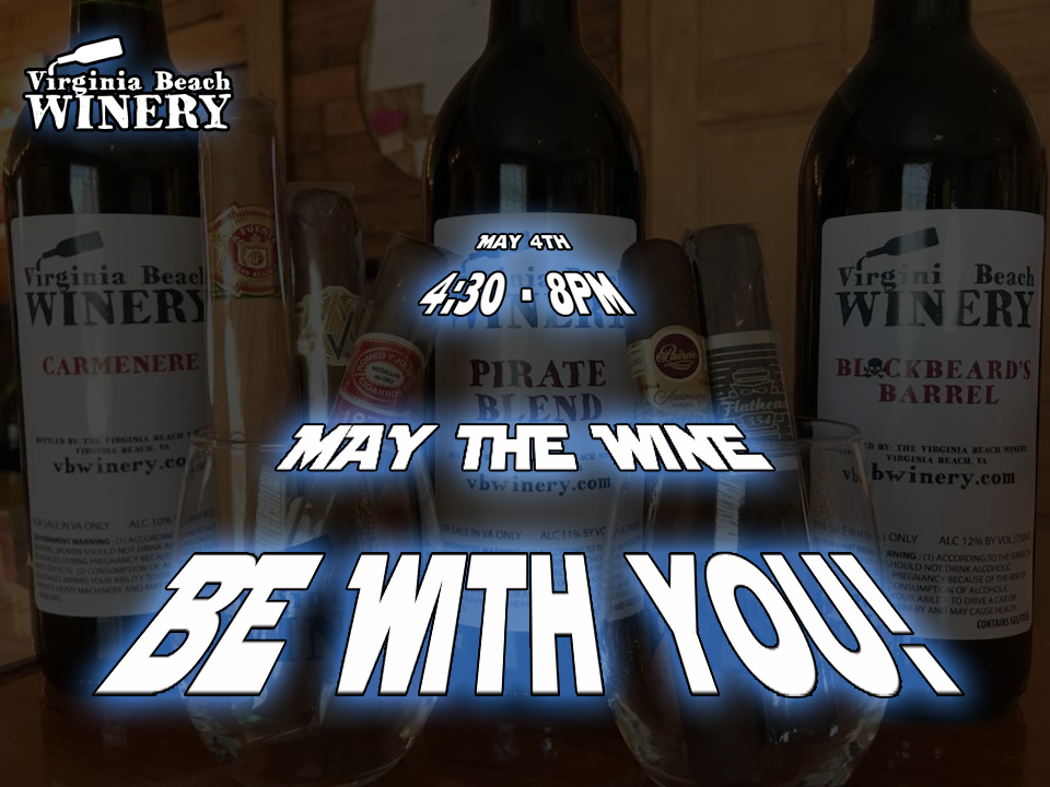 May the wine be with you!