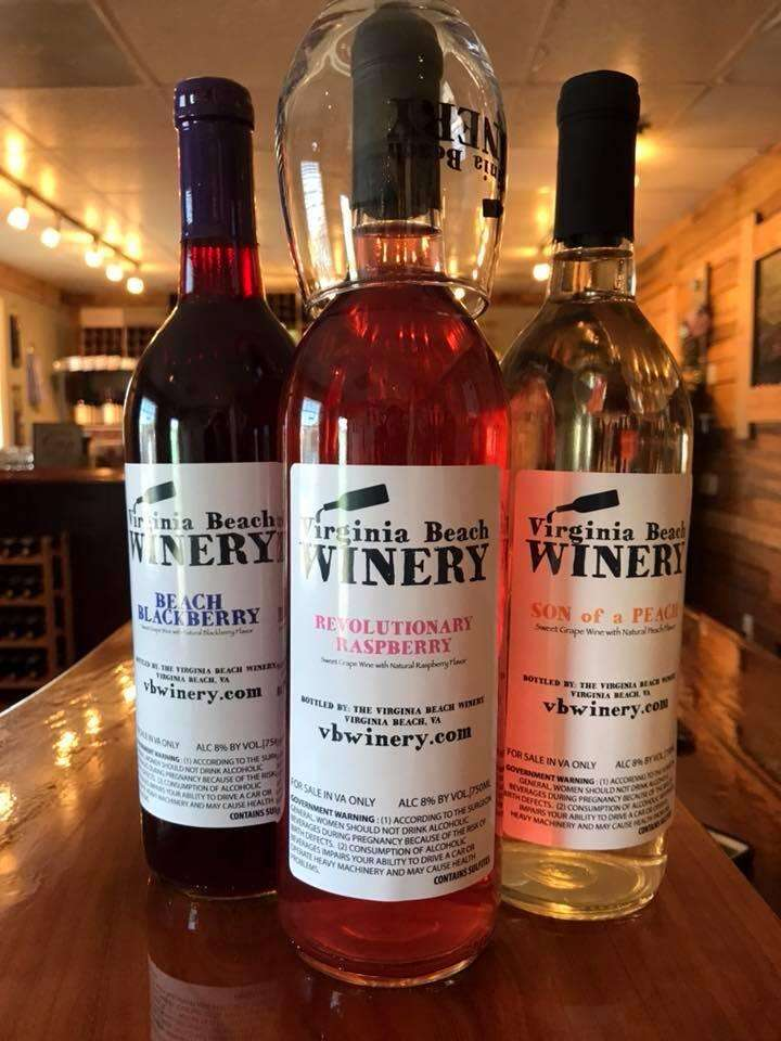 Our fruit wine trio.