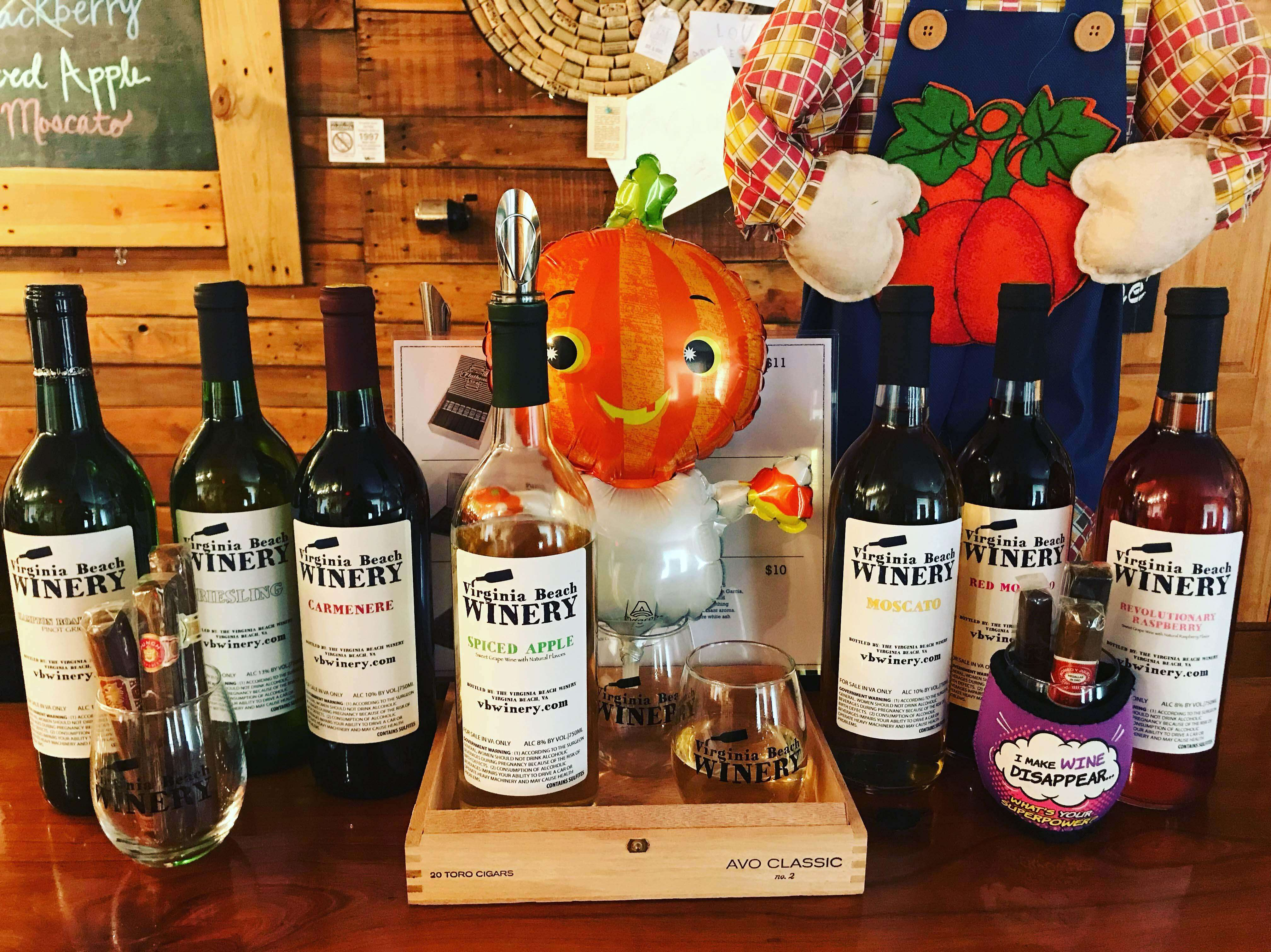 Halloween weekend wines