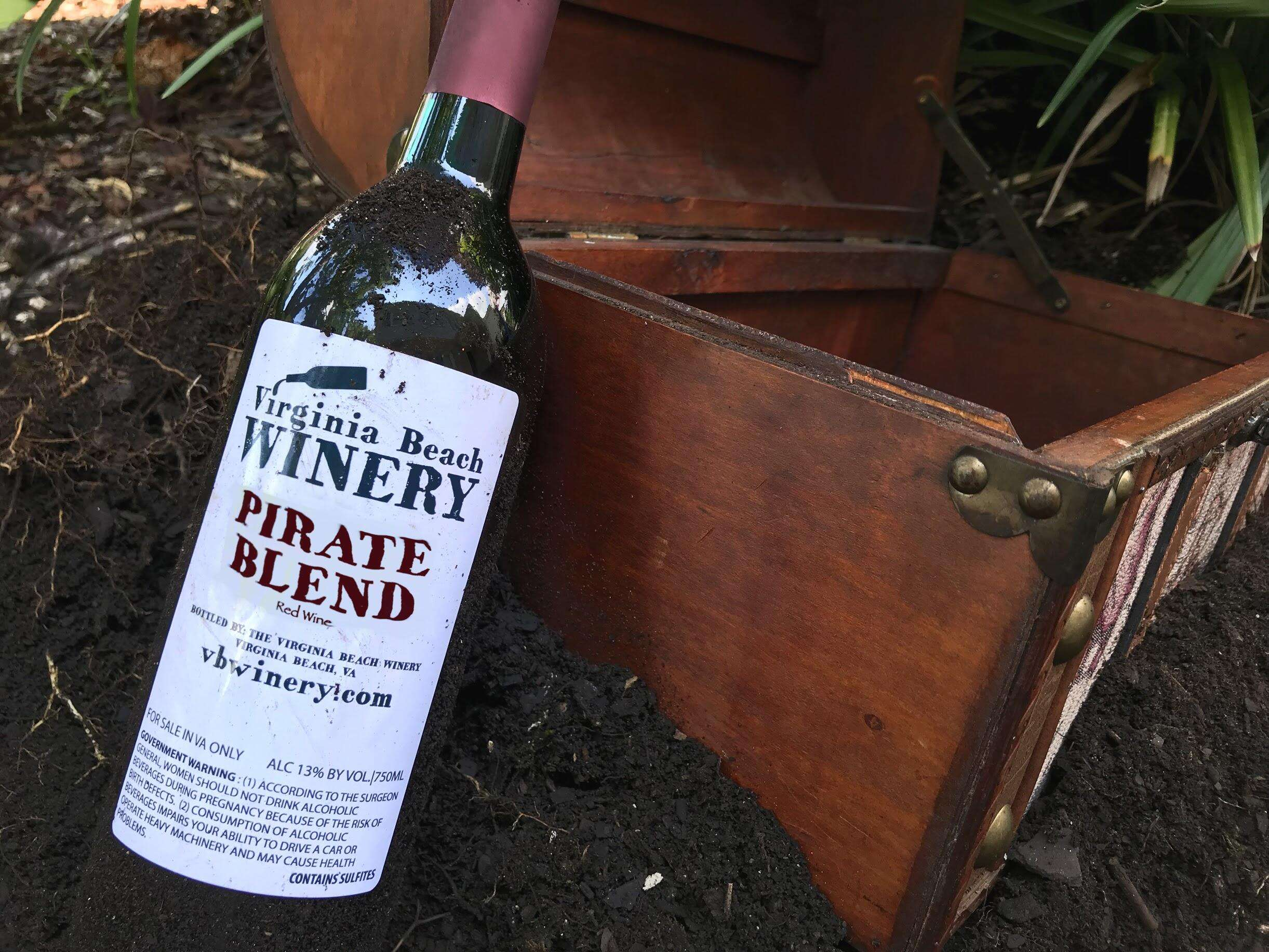 Return of Pirate Blend & Free Wine Tasting